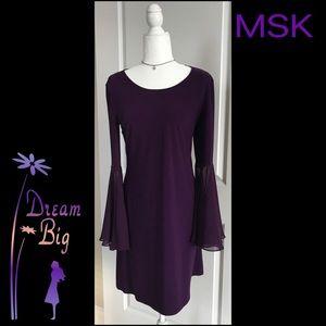 Purple SWING DRESS BY MSK  🌺 Sz M